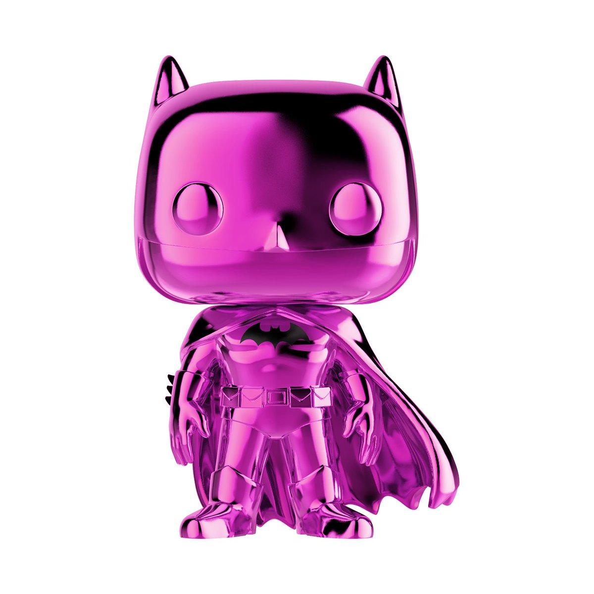 test Twitter Media - RT & follow @OriginalFunko for a chance to WIN a 2019 #NYCC exclusive Pink Chrome Batman Pop!   #Funko #Exclusive #Giveaway #FunkoNYCC #NYCC #DC #LongLivetheBat  #Batman80 https://t.co/7V0AuAnPDD
