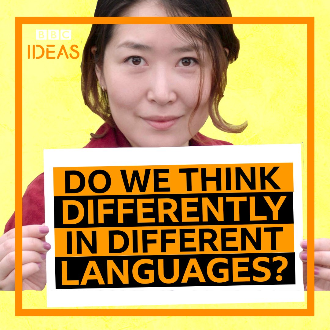 """Language is culture and culture is language.""   Does the language you speak affect your view of the world? https://t.co/75UXXIJrvB"