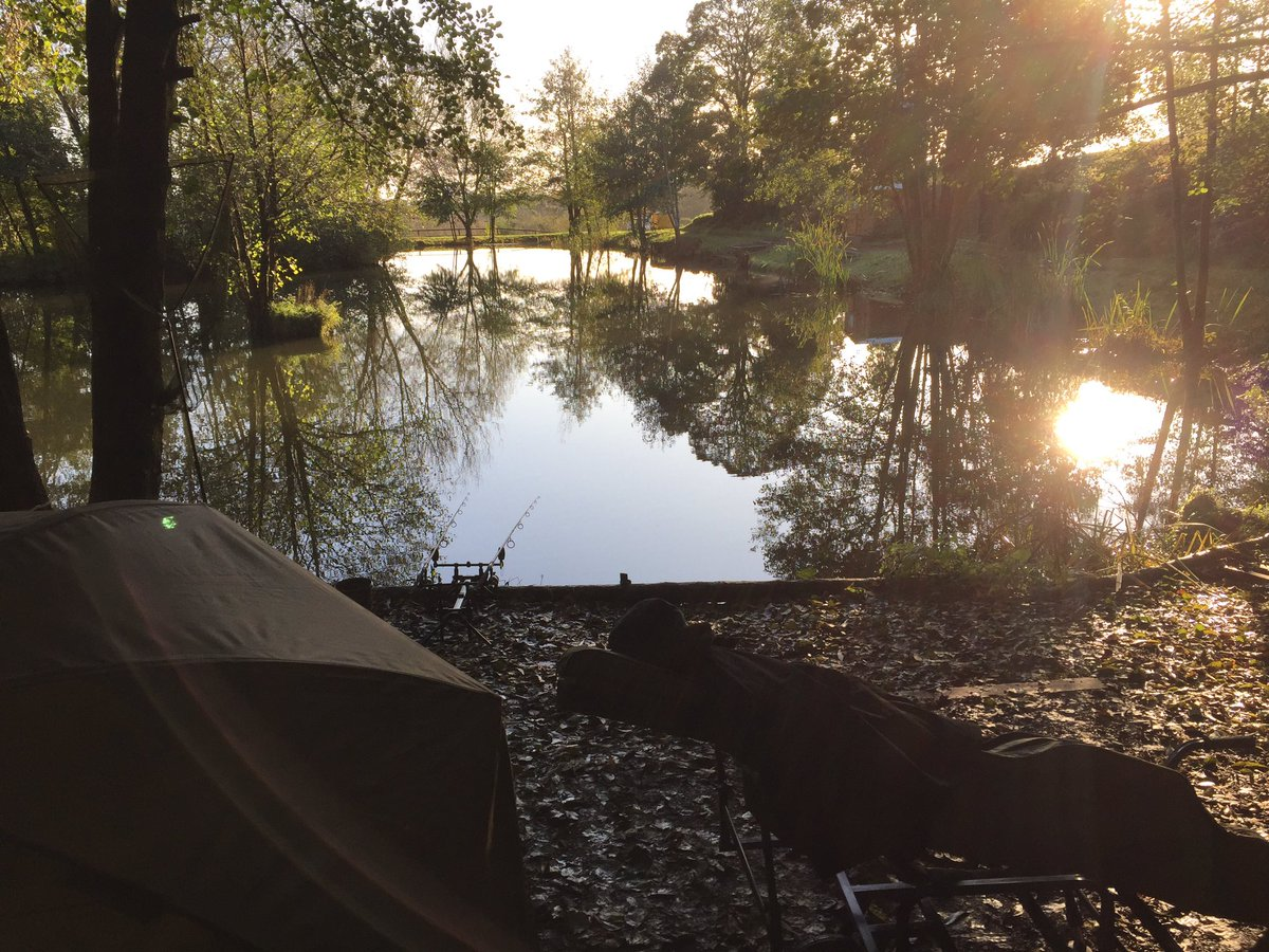 Morning! Just sat here chilling in my happy place 😍 #carpfishing #<b>Fishinglife</b> https://t.co