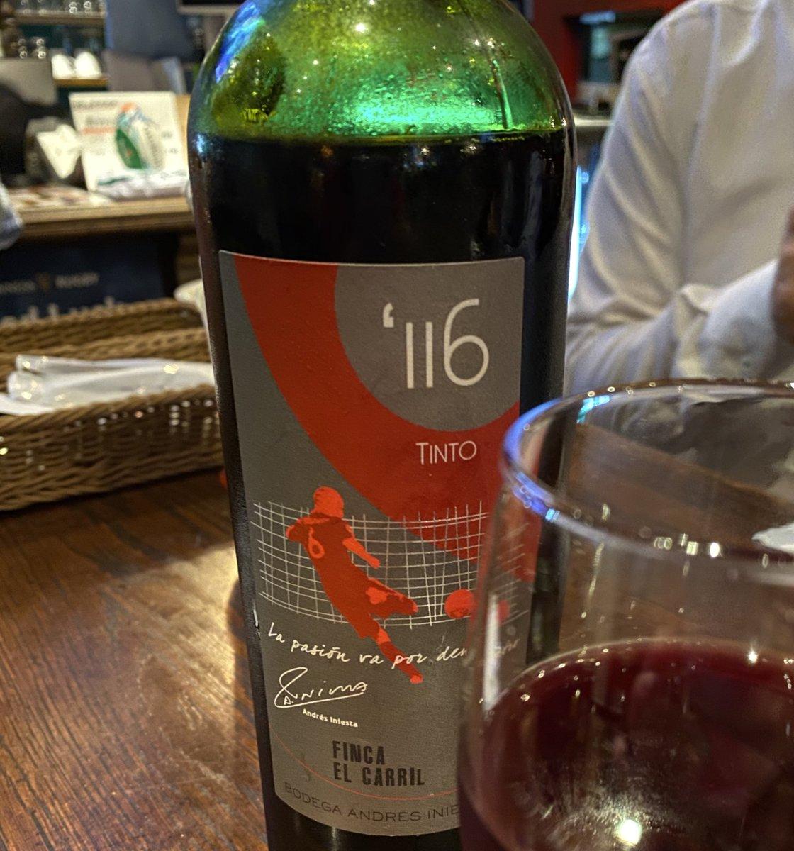 test ツイッターメディア - イニエスタのワイン、初めて飲んだ!お手頃なワインなのね🍷 https://t.co/XpoJPLWSqS