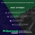 Why attend the #blockchainsummit2019 in Dubai next month: https://t.co/4j4Wnck9K2 https://t.co/VrZDtRzROQ
