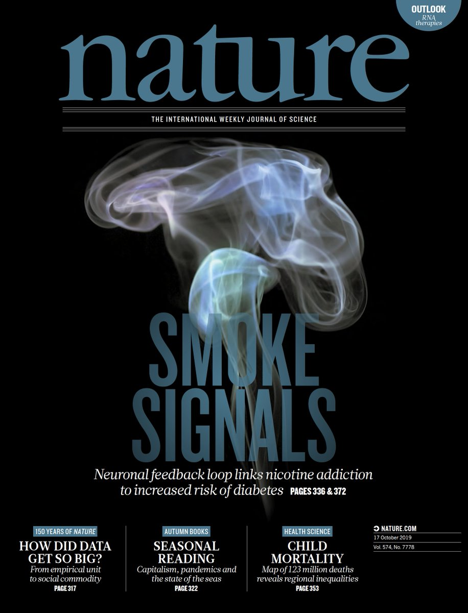"test Twitter Media - ""Smoke Signals"" cover: the link between #diabetes and nicotine addiction (cigarette smoking) implicates TCF7L2, the first gene shown to increase susceptibility to #T2DM https://t.co/JIrC8sWF87 @NatureNV  https://t.co/XfcVWVqhiz @Nature by @IcahnMountSinai @scrippsresearch et al https://t.co/MMzZYynlX8"