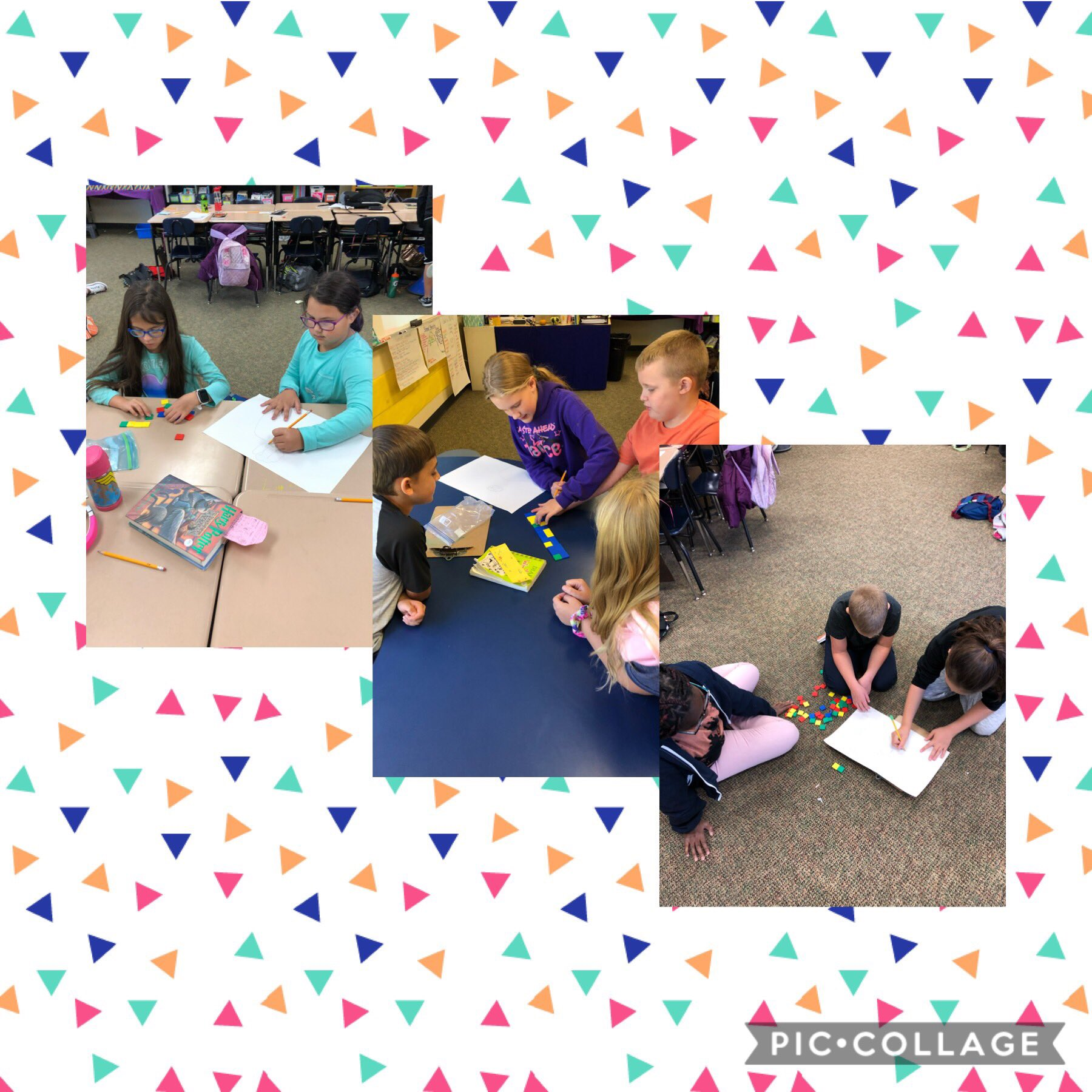 4th graders building arrays to find factors in math #lctitanhill https://t.co/tdJKGIAc3q