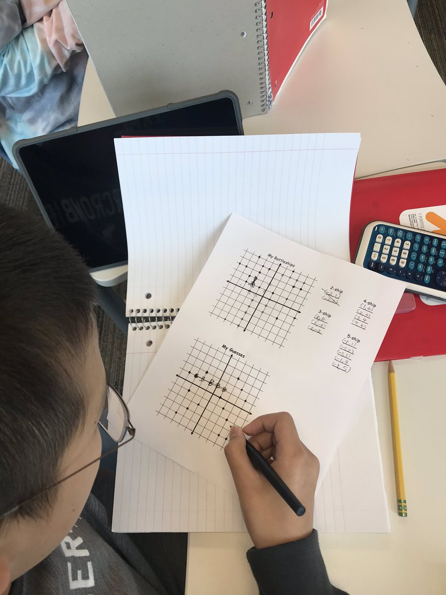 test Twitter Media - Students had fun playing coordinate battleship to prepare for our unit on graphing linear equations! #D30learns #mathisruf #yousunkmybattleship https://t.co/tG18AOw22E