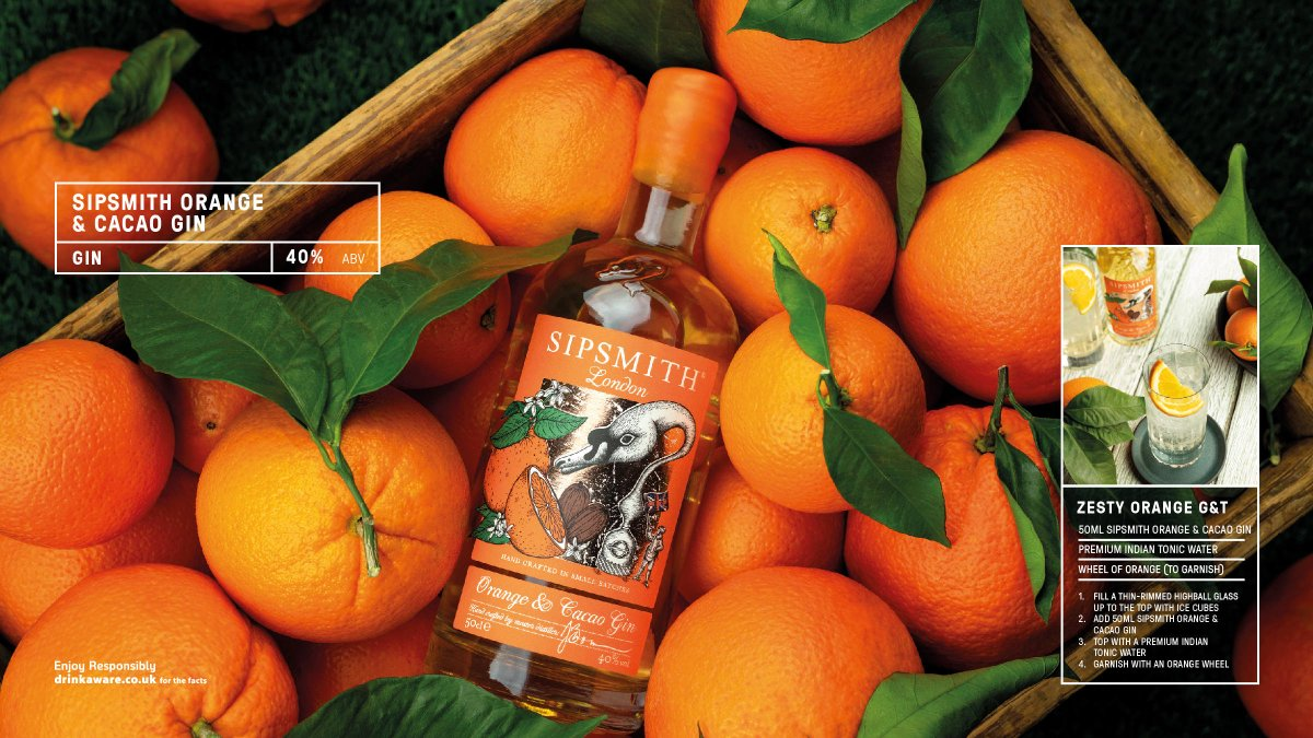 It's zesty, it's chocolatey & it's unmistakably junipery. Citrus gins have been around for centuries, but @sipsmith Orange & Cacao Gin is a modern take & is inspired by the popular flavour combination of chocolate & orange. #food #spirits  Download here https://t.co/jUJCSA9vIT https://t.co/EzjKbRuie9