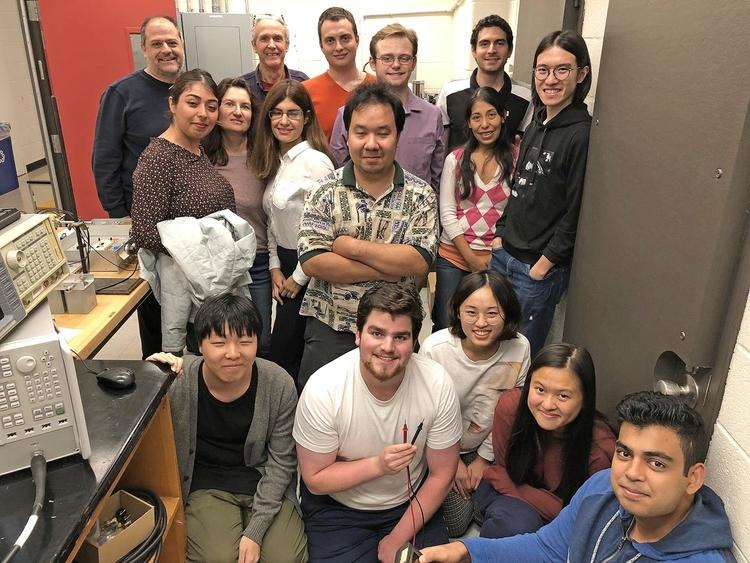 test Twitter Media - Wesleyan's Wave-Transport Lab recently received $709,000 in grants to study the movement of waves. The lab is spearheaded by Professors Tsampikos Kottos and Fred Ellis (back, left): https://t.co/hluPhpGkFO https://t.co/FOsax1DeMx