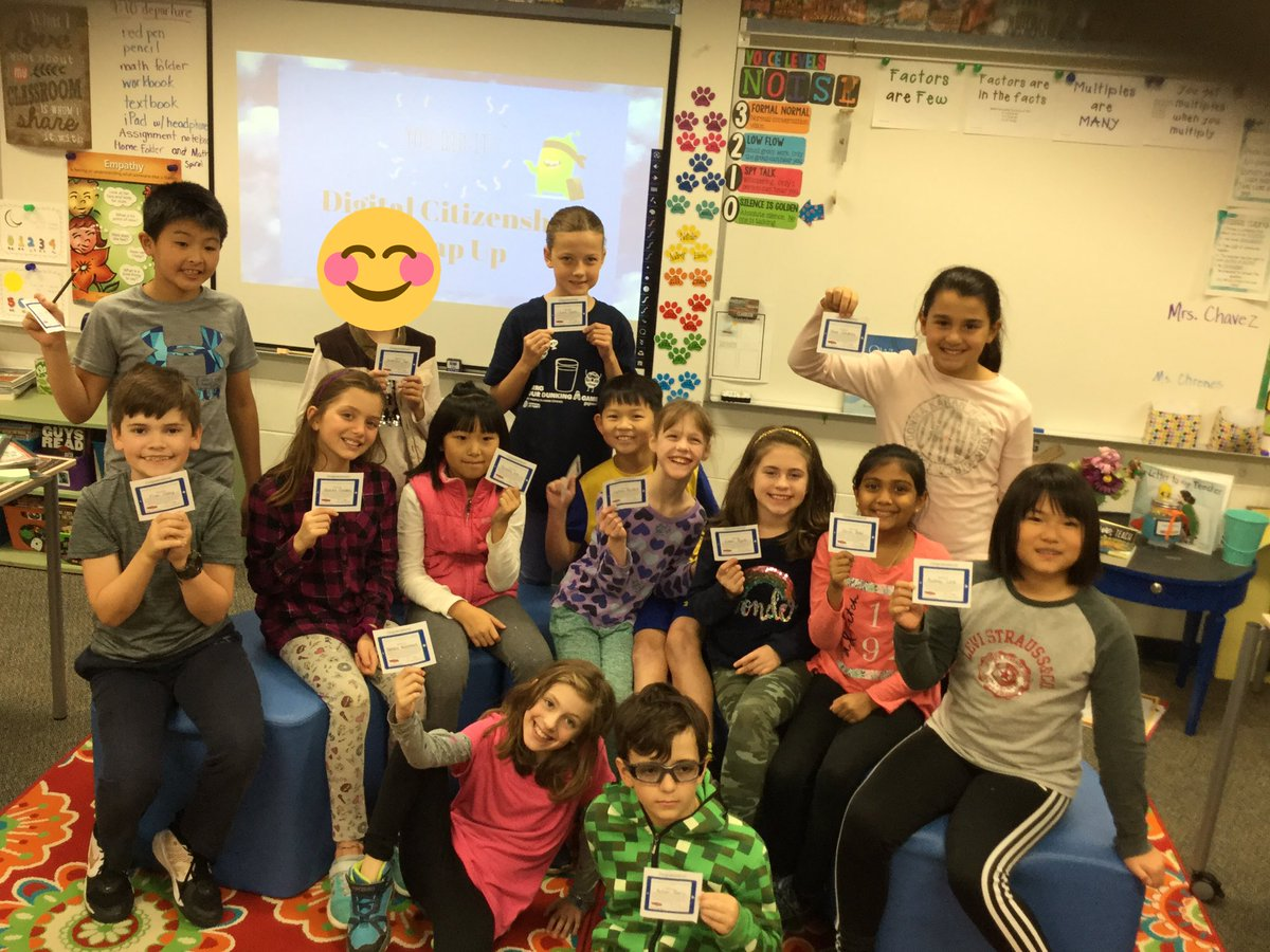test Twitter Media - 4th graders in @WB4Lund show off their digital licenses after they completed their digital citizenship unit this year! #d30learns https://t.co/kver0eFOnH
