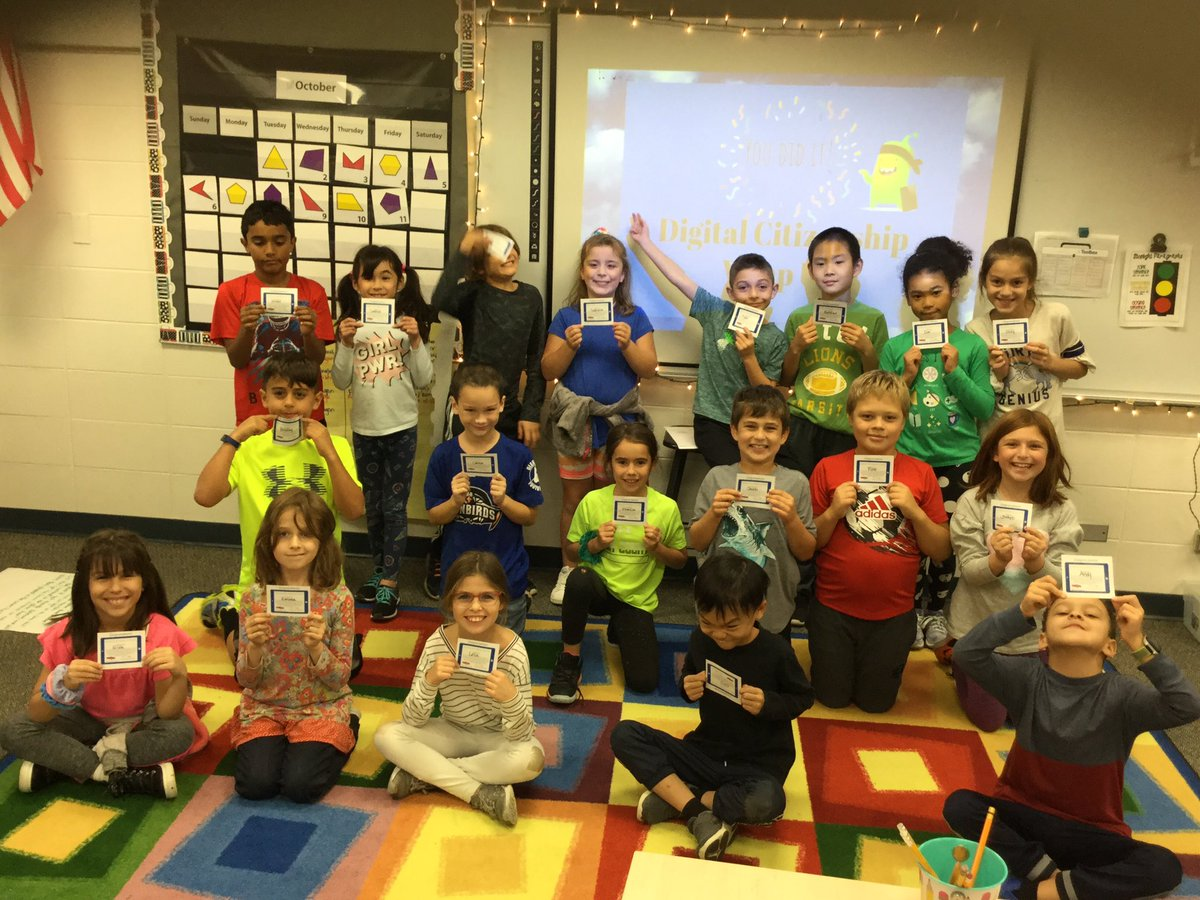 test Twitter Media - 3rd graders in @cohen3rdgrade show off their digital licenses after they completed their digital citizenship unit this year! #d30learns https://t.co/QGCEUXvg9Q