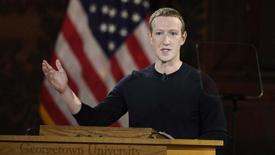 Mark Zuckerberg defends Facebook as bastion of free speech