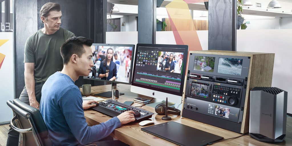 RT @Blackmagic_News: DaVinci Resolve 16.1 Now Shipping! Get the revolutionary new sync bin that lets you cut in perfectly synchronized shot…