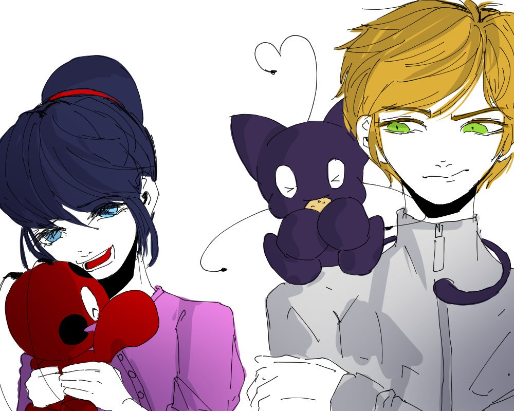 test Twitter Media - If Kwamis were Chao instead AU (+doodles)  #MiraculousLadybug https://t.co/ZtVKql88wl