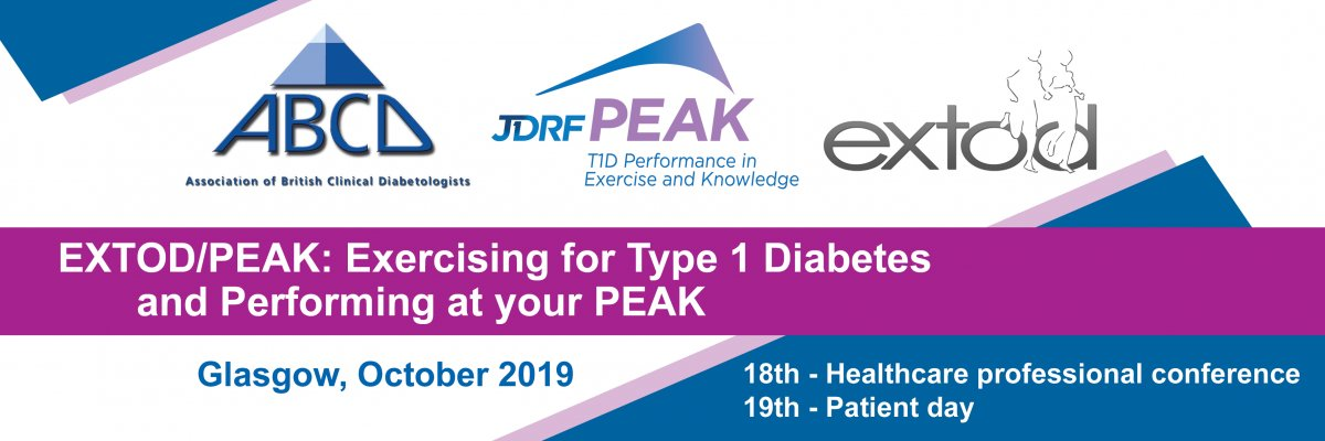 test Twitter Media - We know #type1diabetes & exercise can be a challenge when managing the condition. But exercise is also really important for those of us with #type1. We've partnered with @ABCDiab & @exerciseT1D for this year's #JDRFpeakextod conference for HCPs in Glasgow. https://t.co/TEQSXYTghX https://t.co/HcCgFMucXR