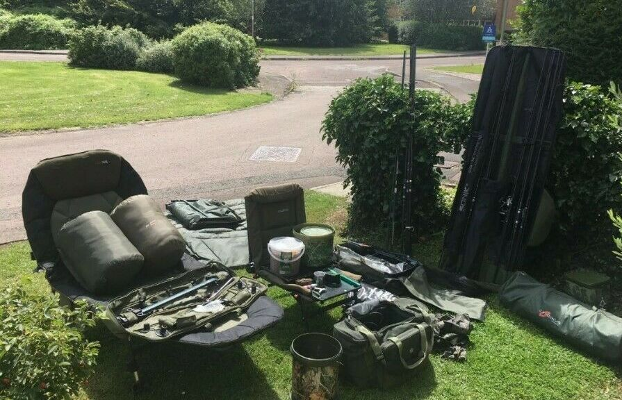 Ad - Carp Fishing Set-up For Sale On eBay here -->> <b>Https</b>://t.co/JrG3VLrdlL  #carpfishi