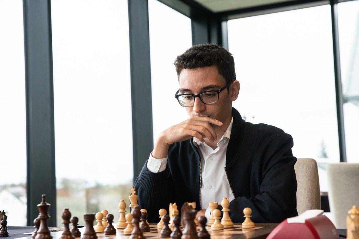 test Twitter Media - It's Carlsen-Caruana tomorrow at #IOMchess!   Top boards for round 9: (6) Aronian - Anton (6) (5½) Carlsen - Caruana (6) (5½) Alekseenko - Anand (5½) (5½) Maghsoodloo - Karjakin (5½) (5½) Kovalev - Nakamura (5½) (5½) Vitiugov - Wang (5½) (5) Matlakov - Gelfand (5½) https://t.co/DLNcDmUSHy