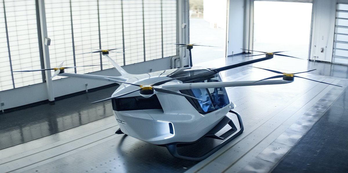 Electric air taxis powered by hydrogen promise greater range for intercity commutes