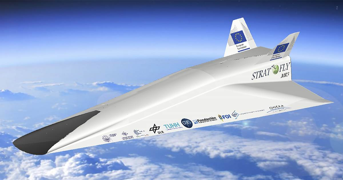 This hypersonic airliner would take you from Los Angeles to Tokyo in under two hours