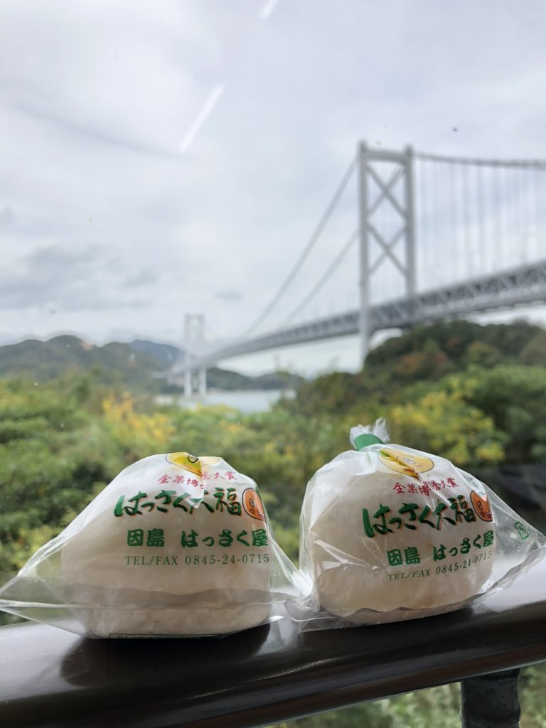 test ツイッターメディア - はっさく大福美味しい😋 https://t.co/q1io4t83eJ