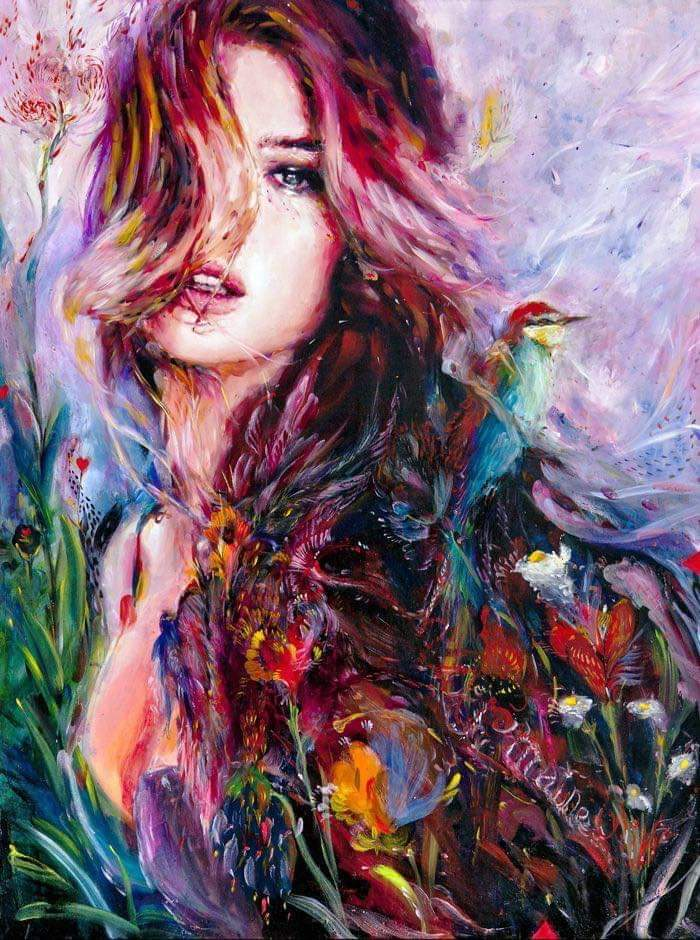 She's a drop of color In a blackend room She's vibrant hues Where shadows loom Lust the drug Her heart giving forth light Love the energy Radiating through the night Mysteries swirl Thru the air Explore her deep If you do so dare. https://t.co/7ViPaV4qG4