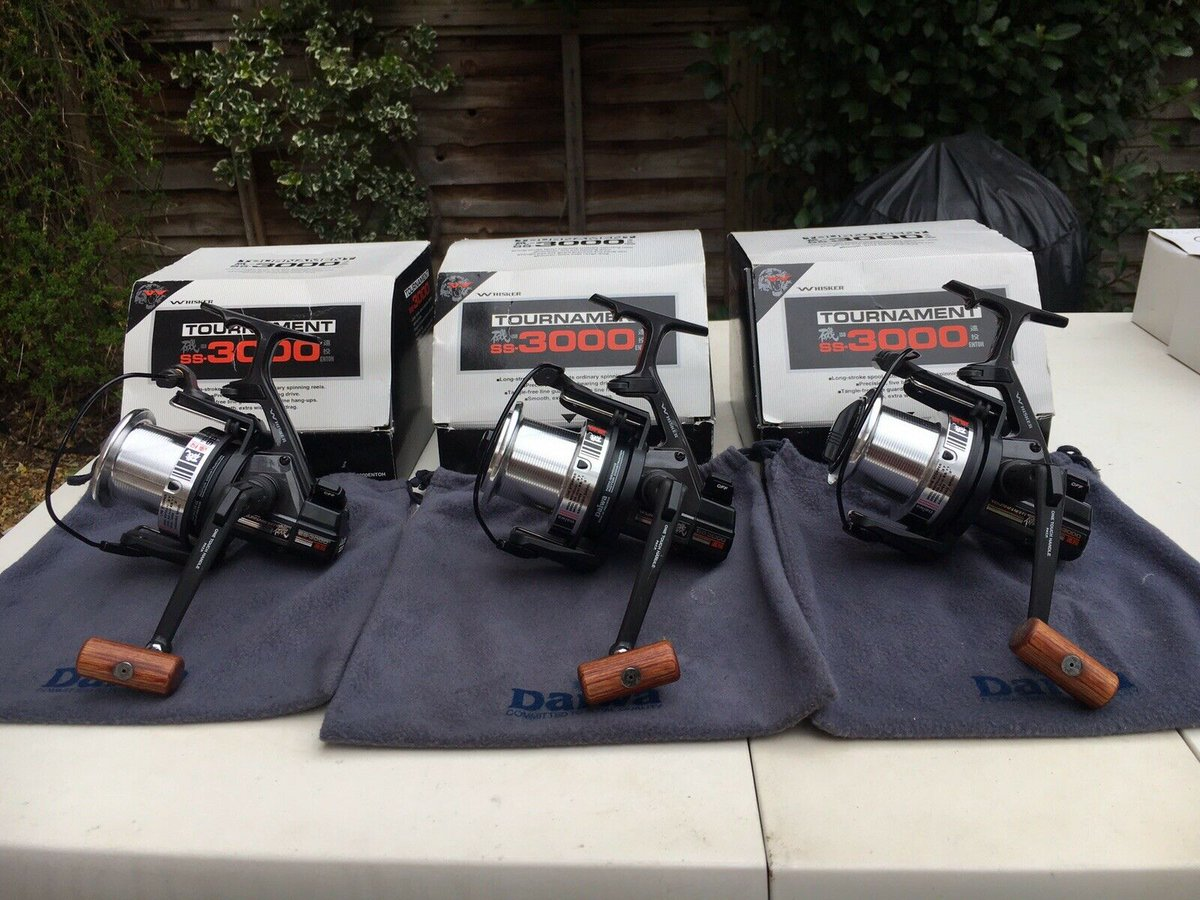 Ad - Daiwa Tournament SS3000 Reels X3 On eBay here -->> https://t.co/4pbggAeSDm  #carpfishing