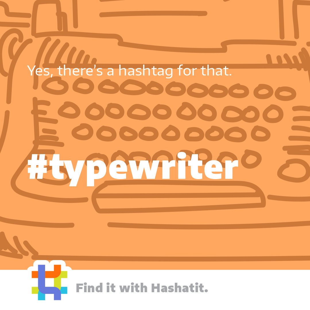 Luddites, steam punks, and lovers of the written word, mid-century design, or both: Typewriters are always awesome. Get more of the content you follow with #HashAtIt. . . . #typewriters #olivetti #smithcorona #socialmedia #social #internet #search #luddite #steampunk https://t.co/BNs3B1N2st