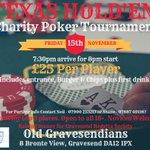Texas Hold'em Charity Poker Tournament https://t.co/4j5vedah4G https://t.co/mhD2WUaIkC
