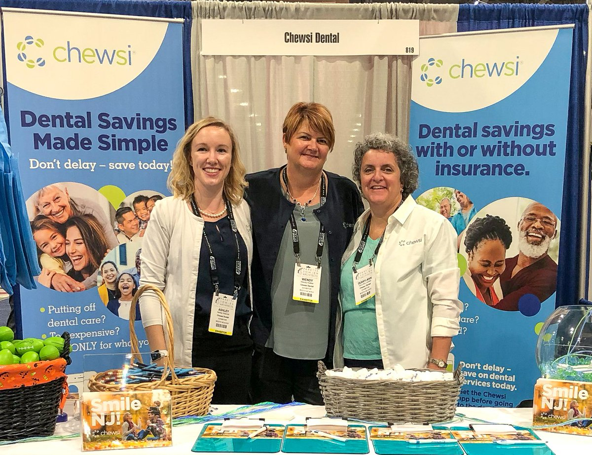 Hey @njsba Workshop attendees! Stop by booth #819 to learn about how Chewsi can bring smiles to the faces of your teachers, administration, and staff! Plus - see how you can win NJ Devils tickets! #ChewsiDental #sayChewsi #NJSBA https://t.co/dADQKaLDz4