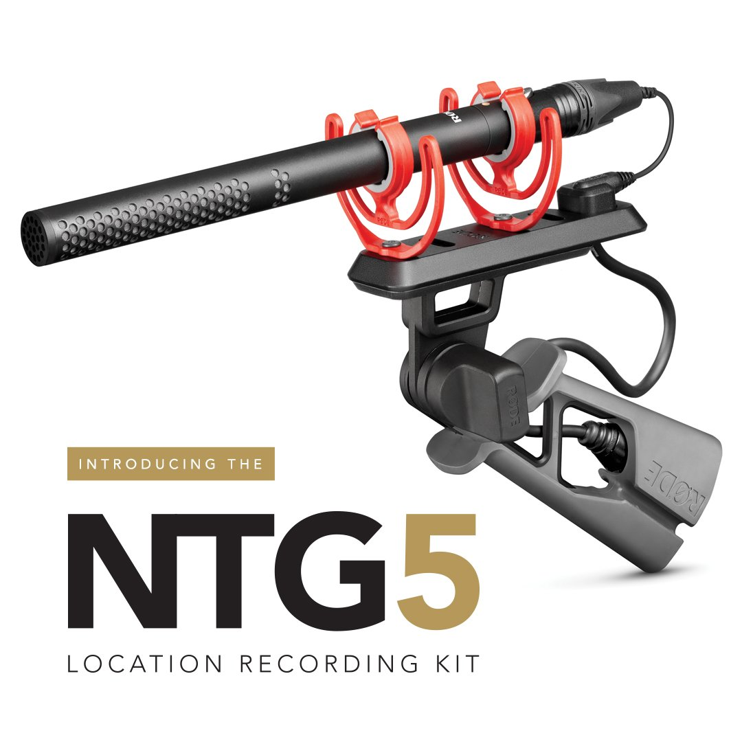 RT @rodemics: Introducing the NTG5 location sound shotgun microphone, the newest addition to the #RØDE microphone range.