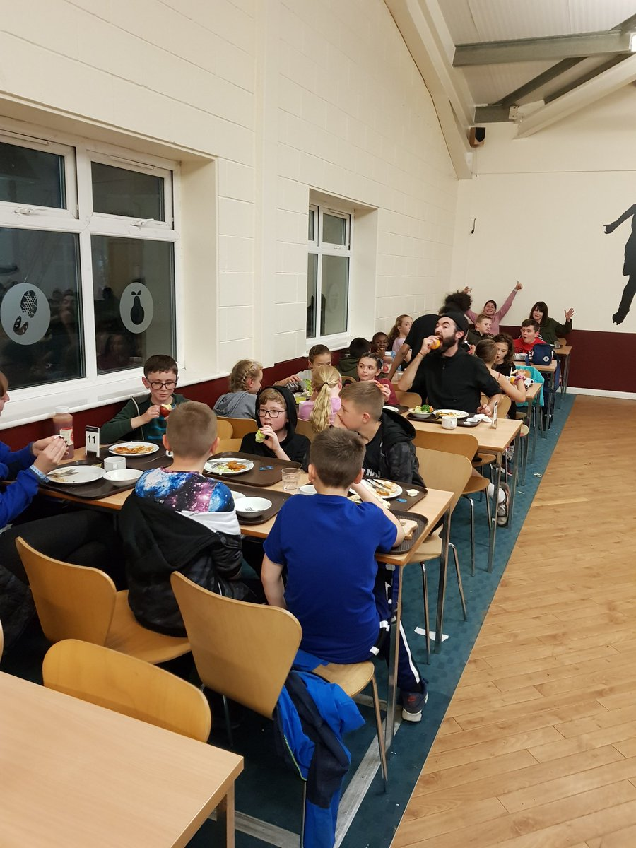 test Twitter Media - Dinner done for Year 6!  Now onto a game of Ambush and bedtime. Everyone is being absolutely fantastic and lots of fun being had! #pgl https://t.co/BSoW9qn8So