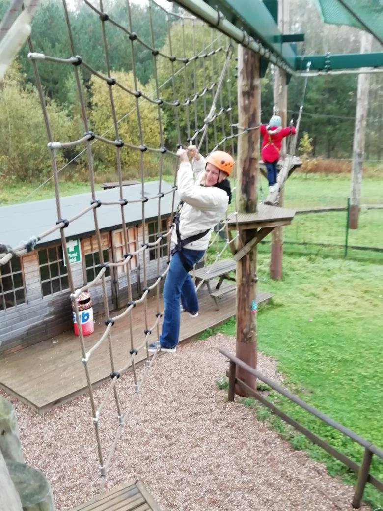 test Twitter Media - Conkers part 4 - Y6 helping deers. Even Miss Edwards and Mrs Wilkes had a go. https://t.co/IZWBX4VLS4