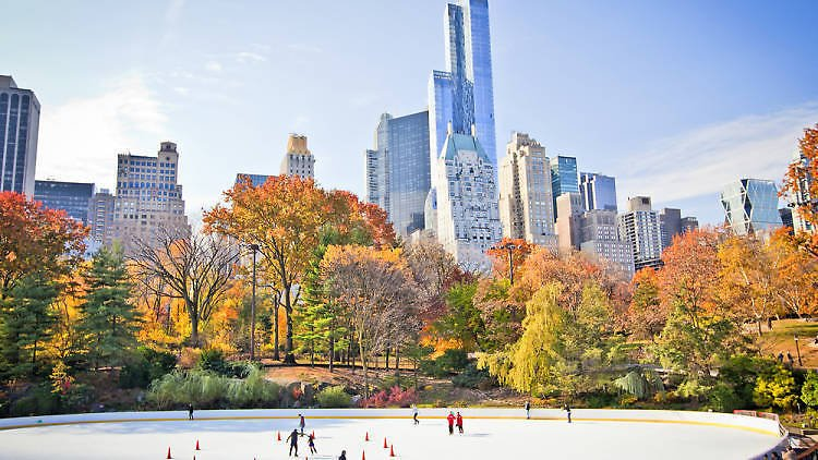 It's time to lace up your skates and head to Central Park ⛸️ @WollmanRink is officially open for the season!