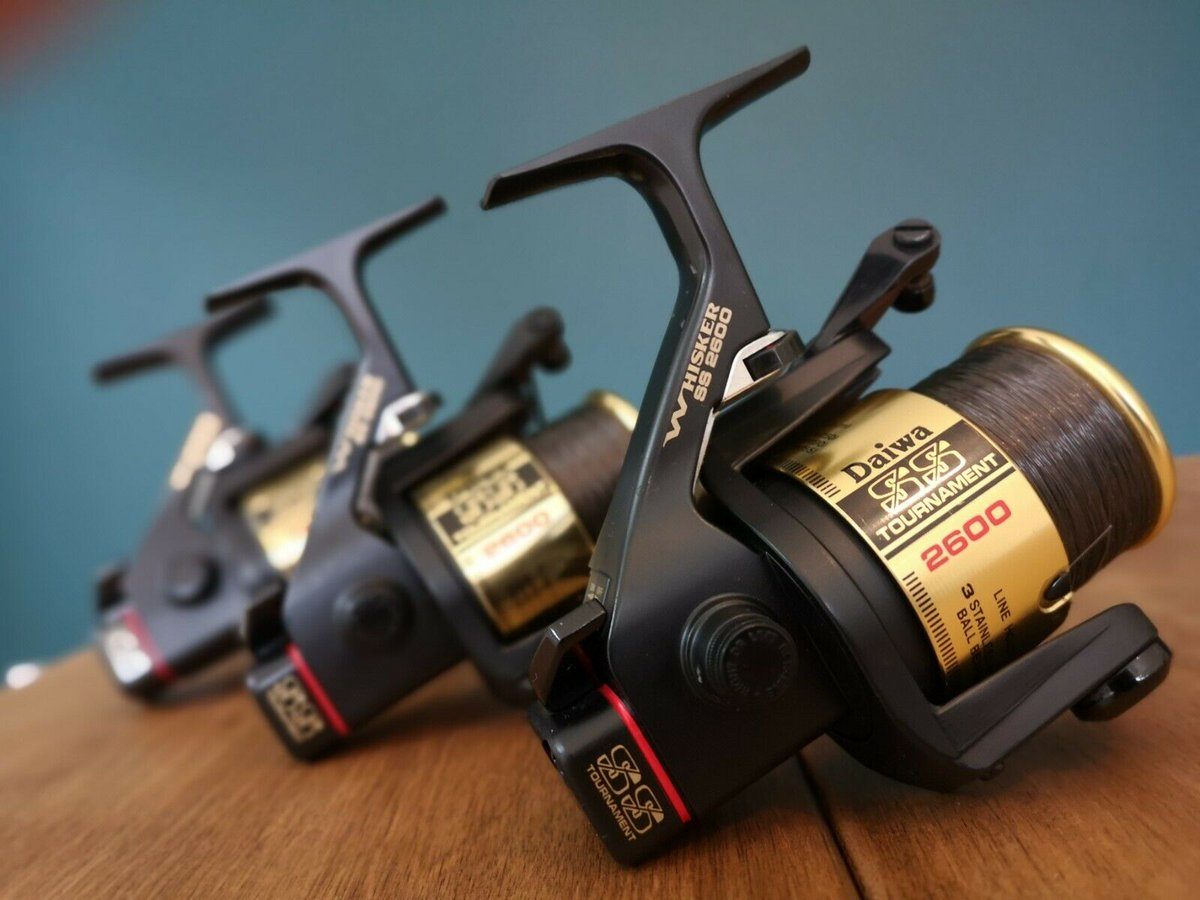 Ad - 3 x Daiwa Tournament Whisker SS2600 Carp Reels On eBay here -->> https://t.co/UrdpiWtBFj