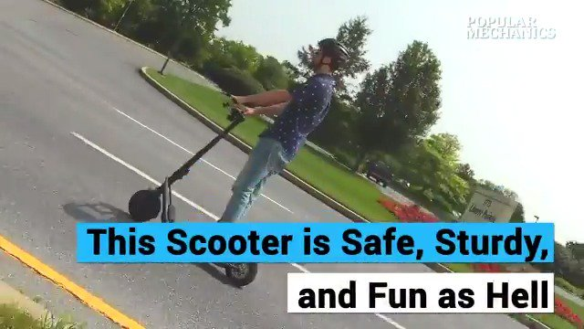 The Boosted Rev Scooter is Safe, Sturdy, and Fun