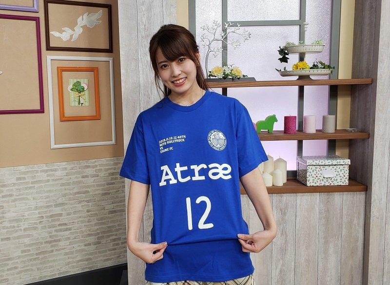 test ツイッターメディア - 【メディア】NHK水戸「いば6」月イチレギュラー、AKB48チーム8 茨城県代表の岡部麟さんが11/10(日)ホーム愛媛戦の来場者プレゼント『1万人でGOJ1』Tシャツを着て試合をPRしてくれました!!2014シーズンのスペシャルライブも覚えていてくれました♪ありがとう!!!!  #1万人でGOJ1 #mitohollyhock https://t.co/iGWRAXJJGx