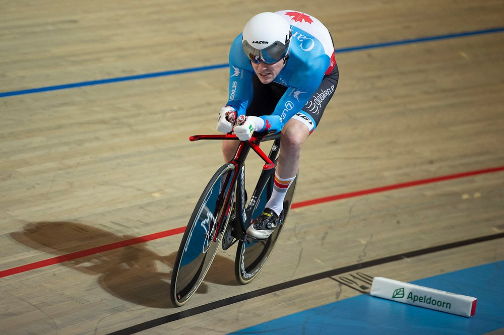 test Twitter Media - 🚨World Record alert! 🇨🇦 Ross Wilson has set a new men's C1 Individual Pursuit record at the UCI World Cup in Glasgow with a speedy time of 3:49.450👊 #TissotWorldCup https://t.co/S39YgoNezD