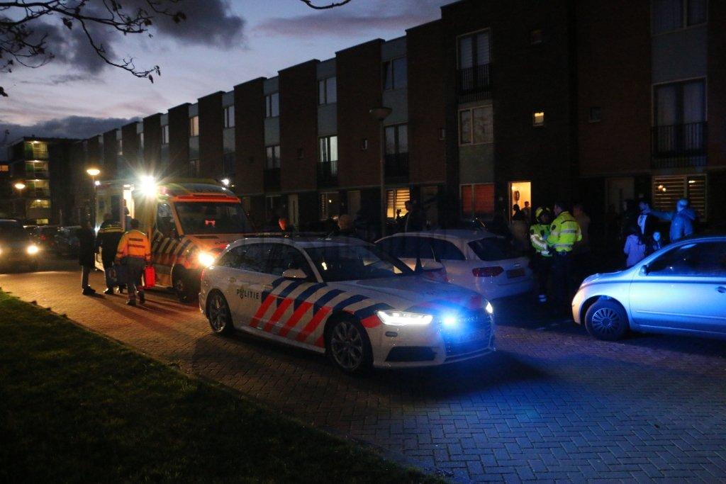 Schiedam - Traumahelikopter voor hulpverlening in woning: ?..