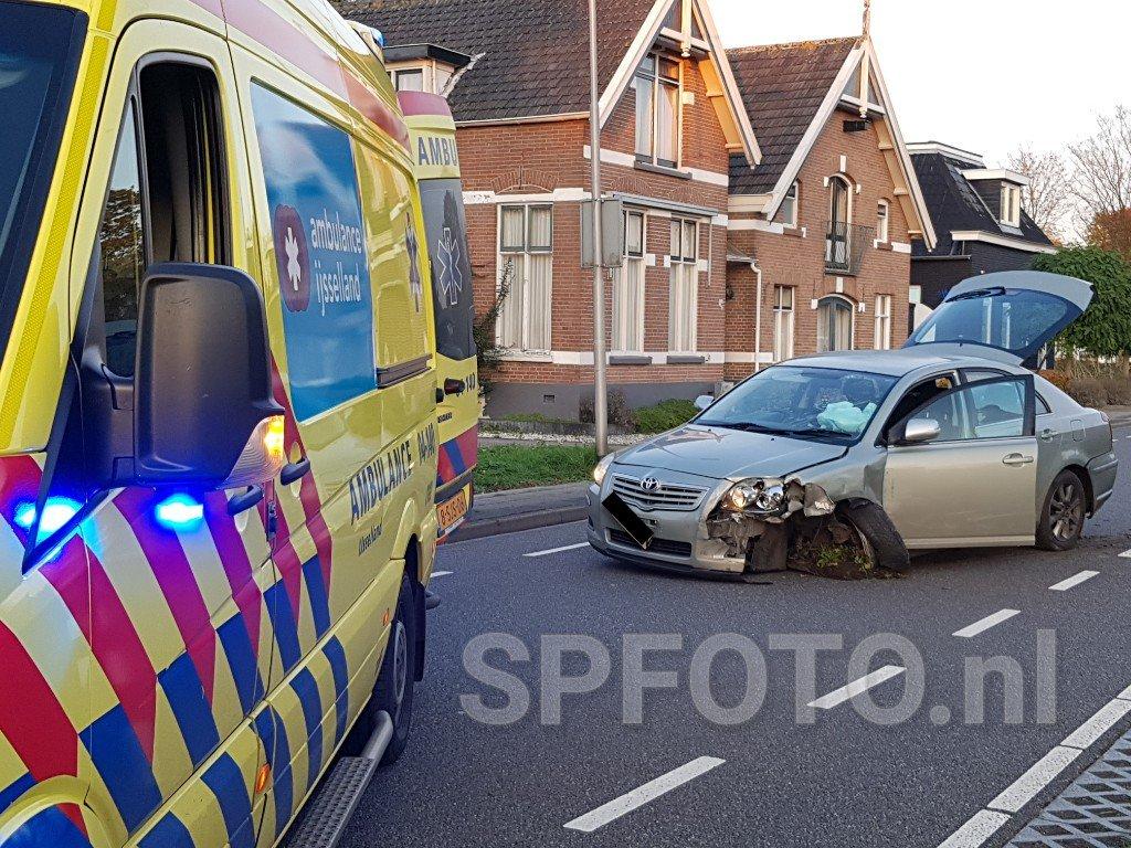 Melding ongeval Hardenberg