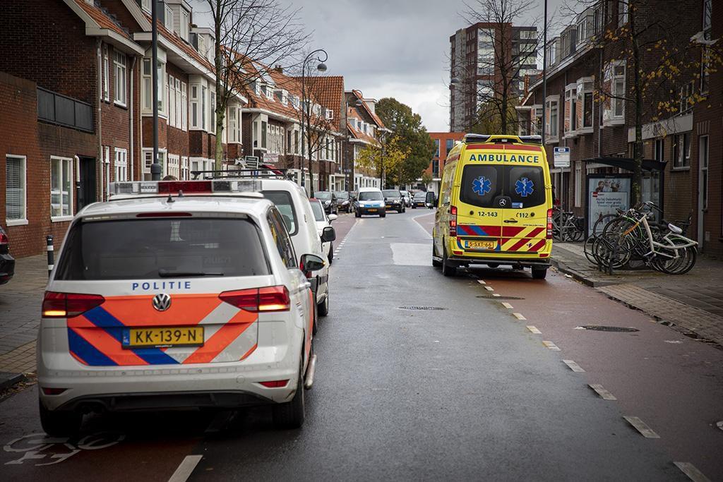 Fietser gewond na aanrijding met auto in Haarlem..