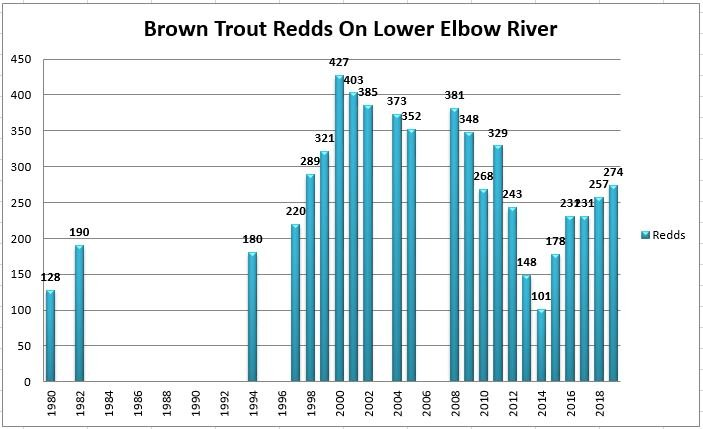 test Twitter Media - Data from the Lower Elbow count this year indicated 15 more Brown Trout Redds than in 2018, continuing the trend upward since the 2013 flood. https://t.co/4uOhSkEEYP https://t.co/NYu8omZHKx