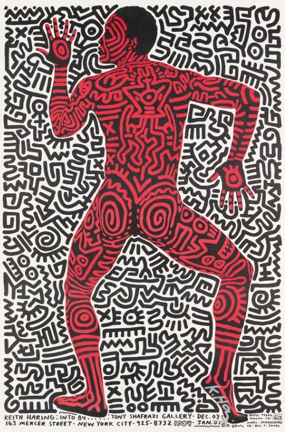 Keith Haring https://t.co/38XcEofQuz