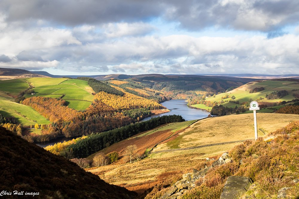 The Upper Derwent Valley of the Peak District showing some nice Autumn colour yesterday; hope your weeks are going well! https://t.co/mEPNQYZR91