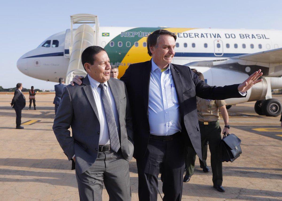 Bem vindo, #Presidente @jairbolsonaro !