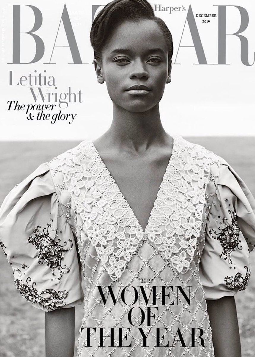Sis out here killing it. Happy birthday @LetitiaWright 🖤 #BlackPantherFam