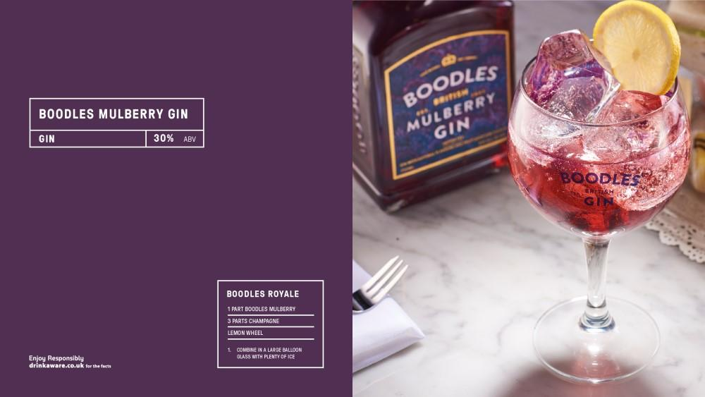 A rich mulberry scented gin with notes of raspberry and currant to create a sweet and subtle medley. @BoodlesGin Mullberry Gin is a fresh interpretation of a British classic. #Gin #Food  Download our new supplement https://t.co/GR9RGieq9G https://t.co/AEQvi8xAeh