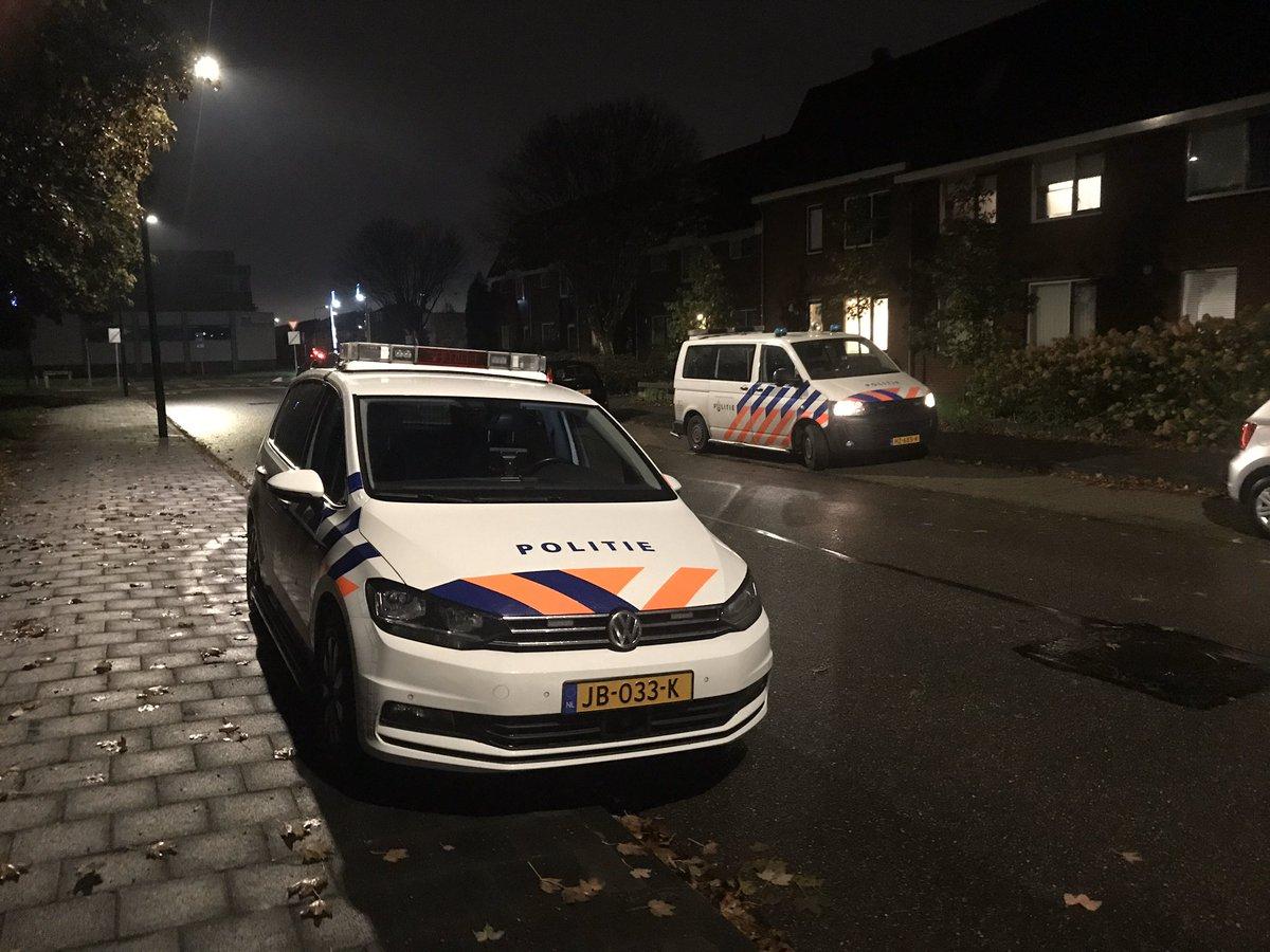Melding ambulance Haydnlaan Maassluis inzake overval