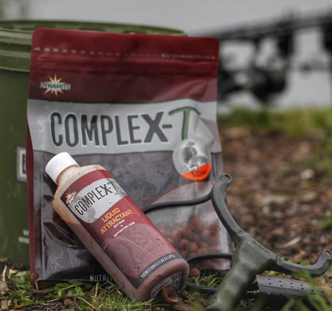 The year-round bait that gets results...   #ComplexT #TerryHearn #carpfishing #carping #carpbait #bo