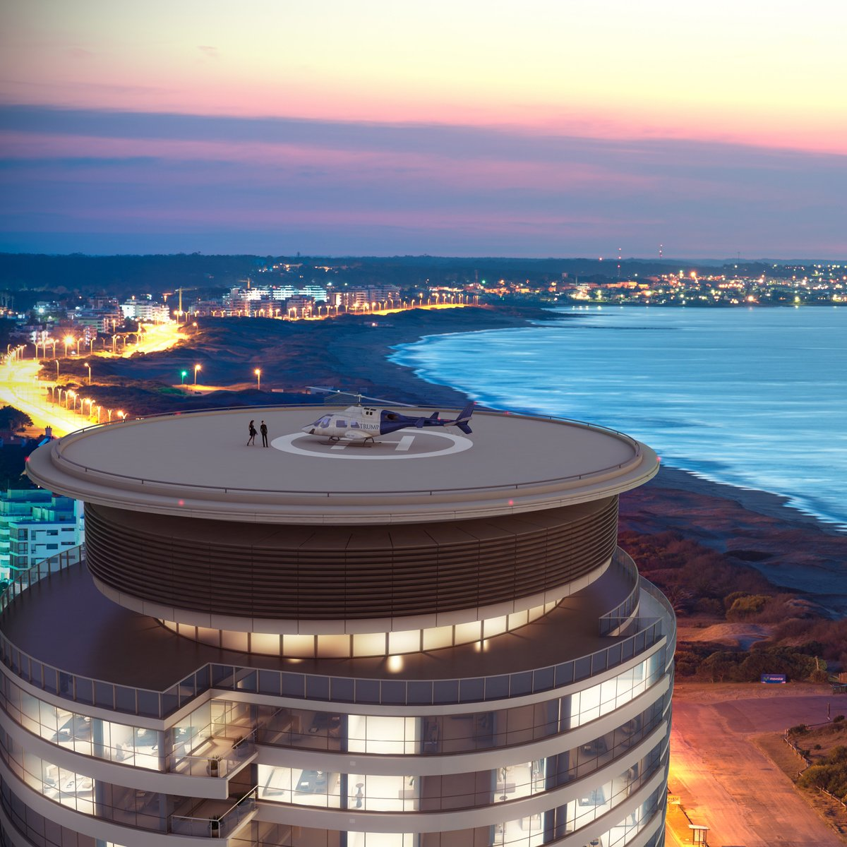 Private Heliport ✔️ Gourmet Market ✔️ Indoor Tennis Court✔️  Trump Punta Del Este is set to redefine what is meant by luxury living as the most exclusive tower in South America.
