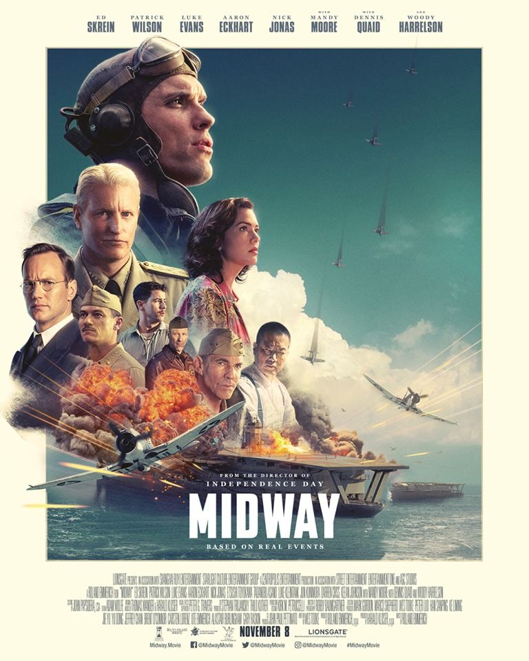test Twitter Media - The real story behind the most legendary battle of WWII has remained untold, until now. Buy tickets today to see #MidwayMovie in D-BOX this Friday.  https://t.co/lcRA76ydxp //  Achetez vos billets aujourd'hui pour vivre #MidwayMovie en D-BOX. https://t.co/BbMaBGpkJk