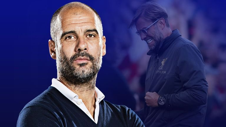 📊| Pep Guardiola vs Jurgen Klopp in the Premier League:   Matches  125 | 155  Wins    95 | 95  Draws  16 | 40  Losses   14 | 20  Win Rate   76.6% | 61%  Goals for  315 | 331 Goals Against  99 | 151  Goal Difference   216 | 180 Manager of the Month   7 | 5   PL Titles   2 | 0