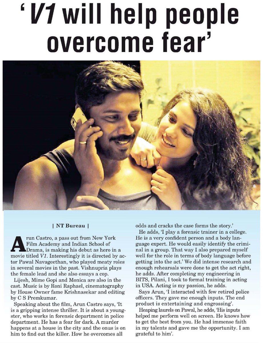 From December 6th #V1 #Teaser @Saravan88916256 @LijeeshActor @linga_offcl @positiveprint_ @Muralidharan142