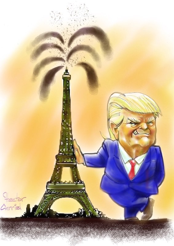 Climate Cartoon of the day: US formally withdraws from Paris agreement https://t.co/irJ2ADV6FG